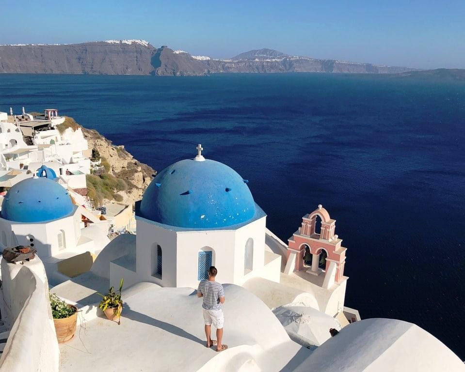 Santorini - Best greek islands to visit in October