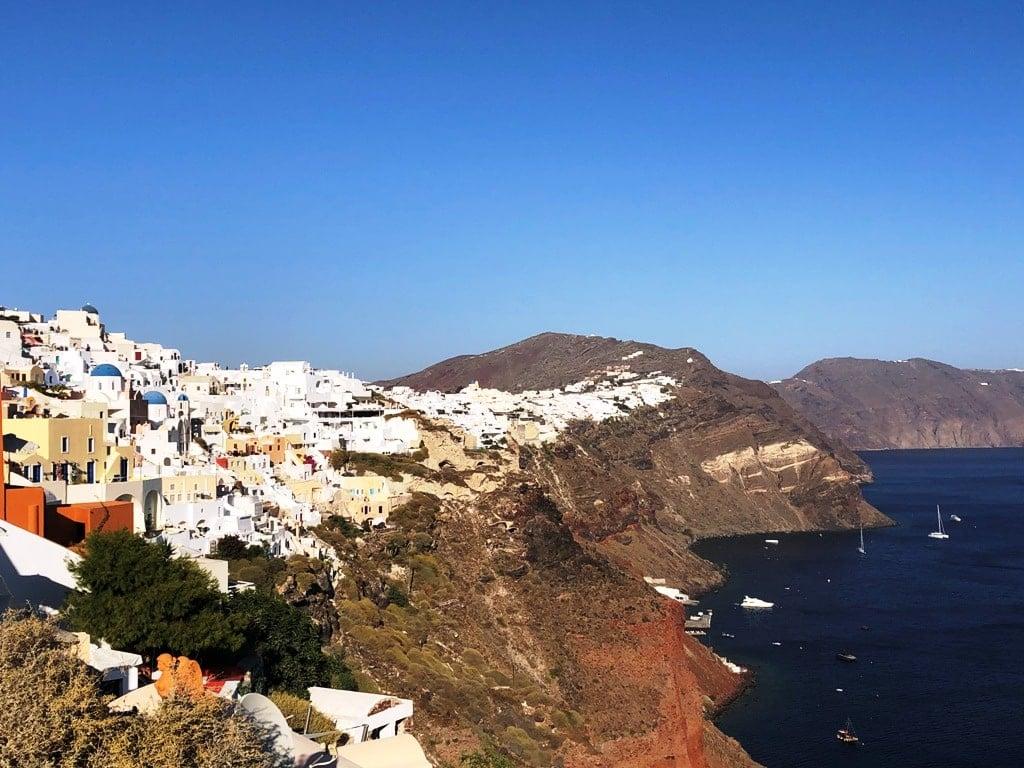 Oia Santorini Caldera Viws