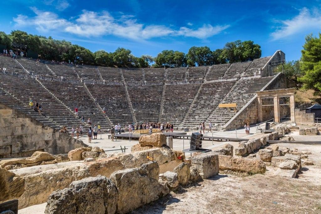 epidaurus - famous historicl sites in Greece