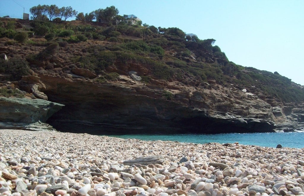 Vitali Beach - Best beaches in Andros