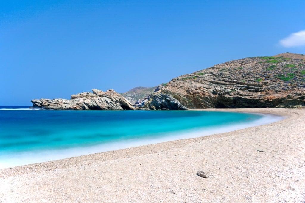 Vori Beach Andros Greece