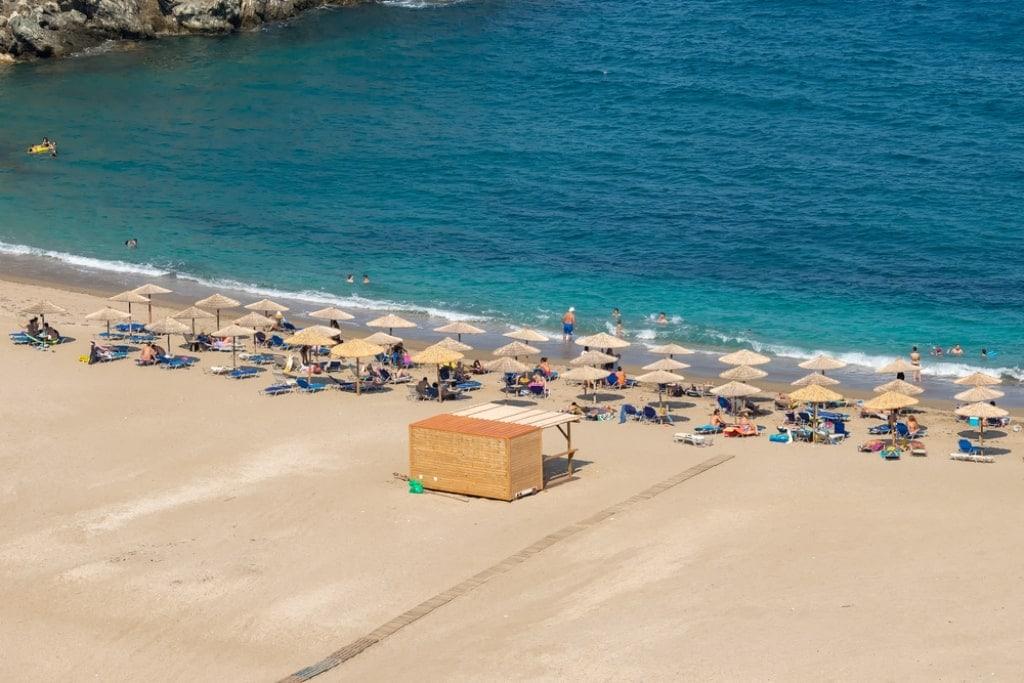 Zorkos Beach - Andros beaches Greece