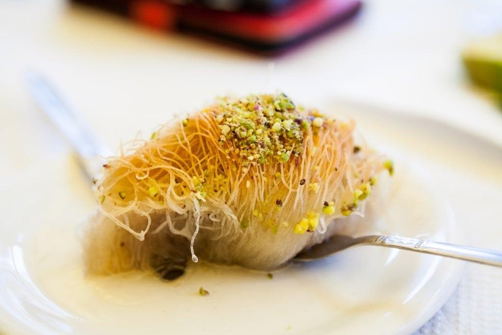 Kataifi - famous greek dessert