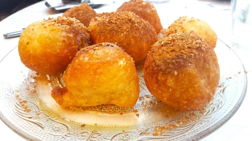 Loukoumades - Popular Greek desserts