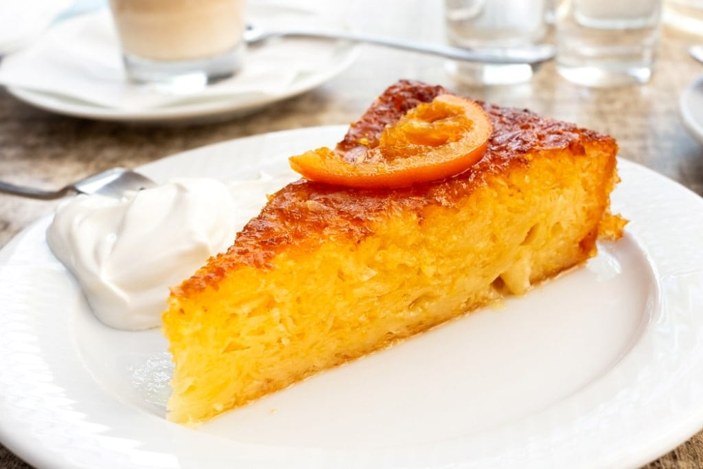 Portokalopita (Orange Pie) - popular desserts of Greece