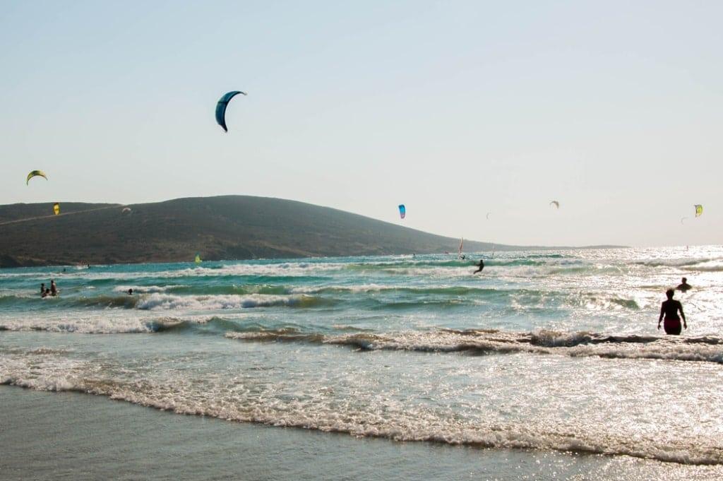 windy Rhodes Greece