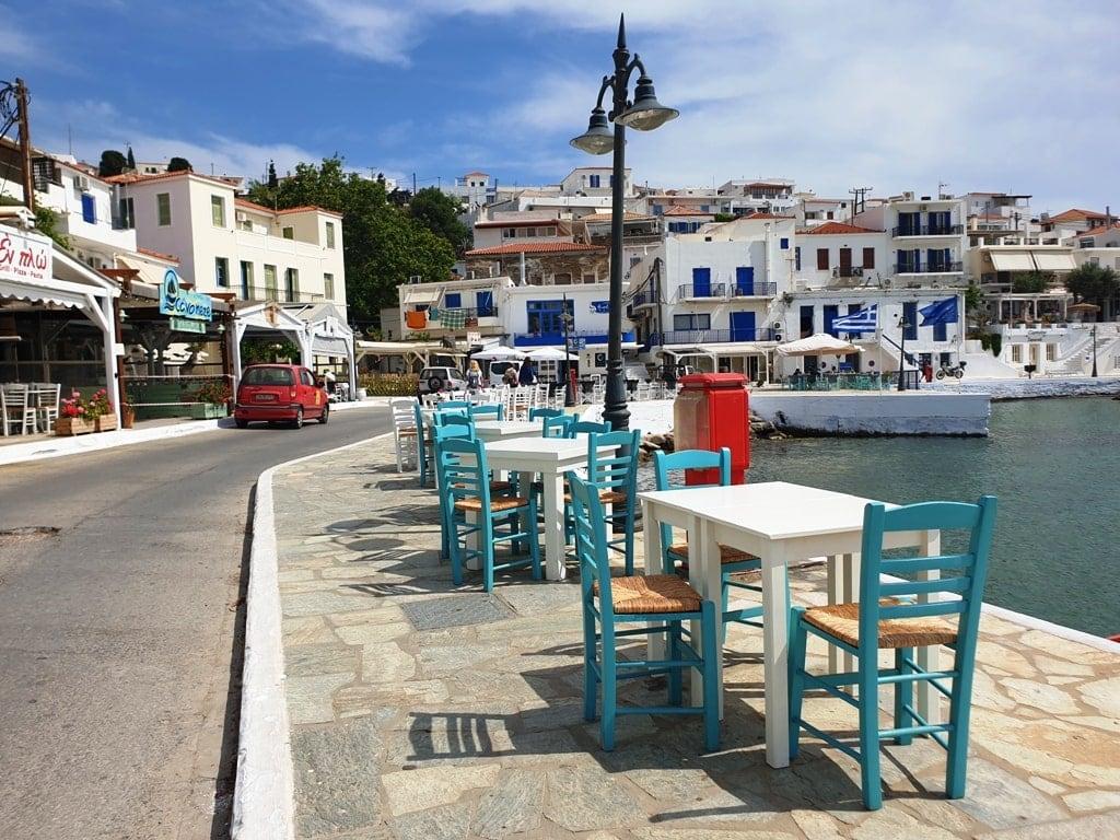 Batsi Andros Island Greece