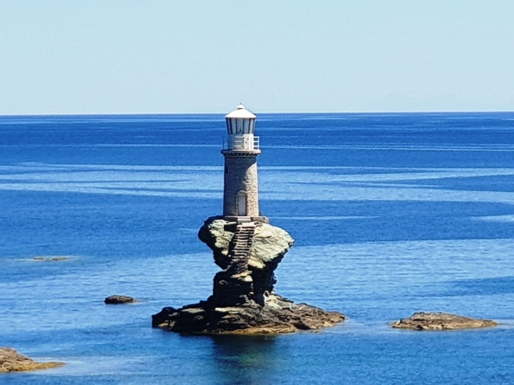 Lighthouse Andros Chora