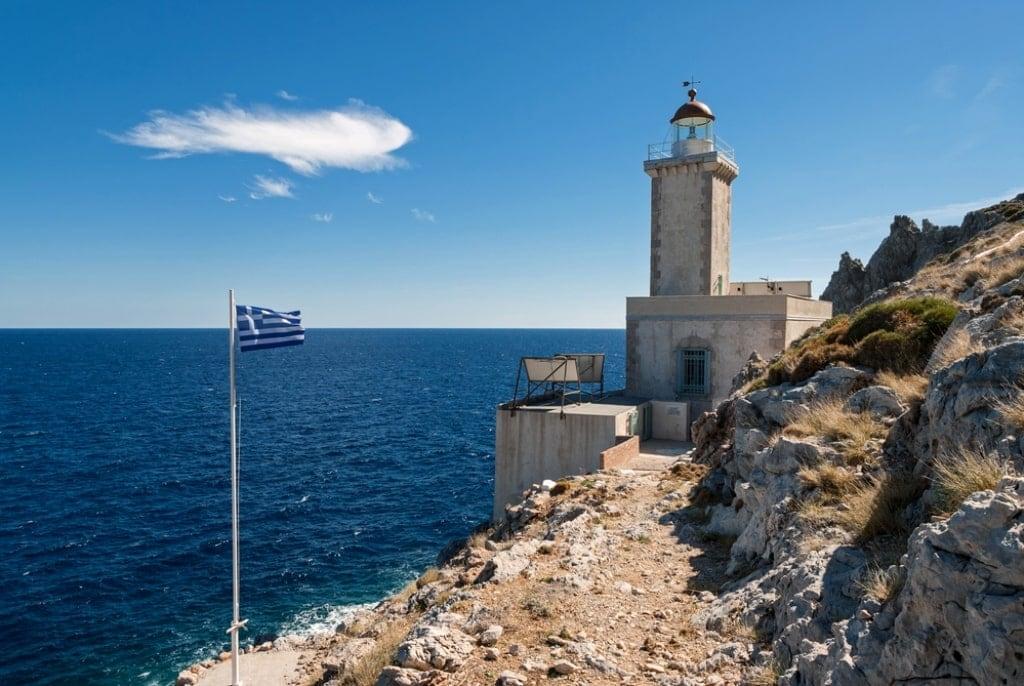 The lighthouse of Cavo Maleas, Peloponnese