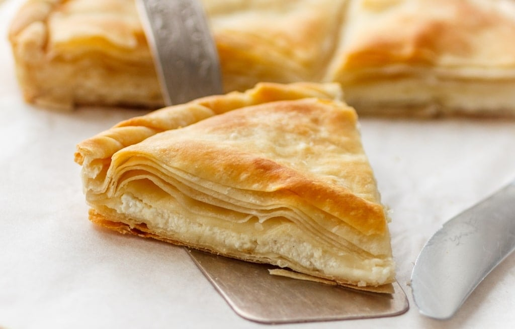 cheese pie - greek street food