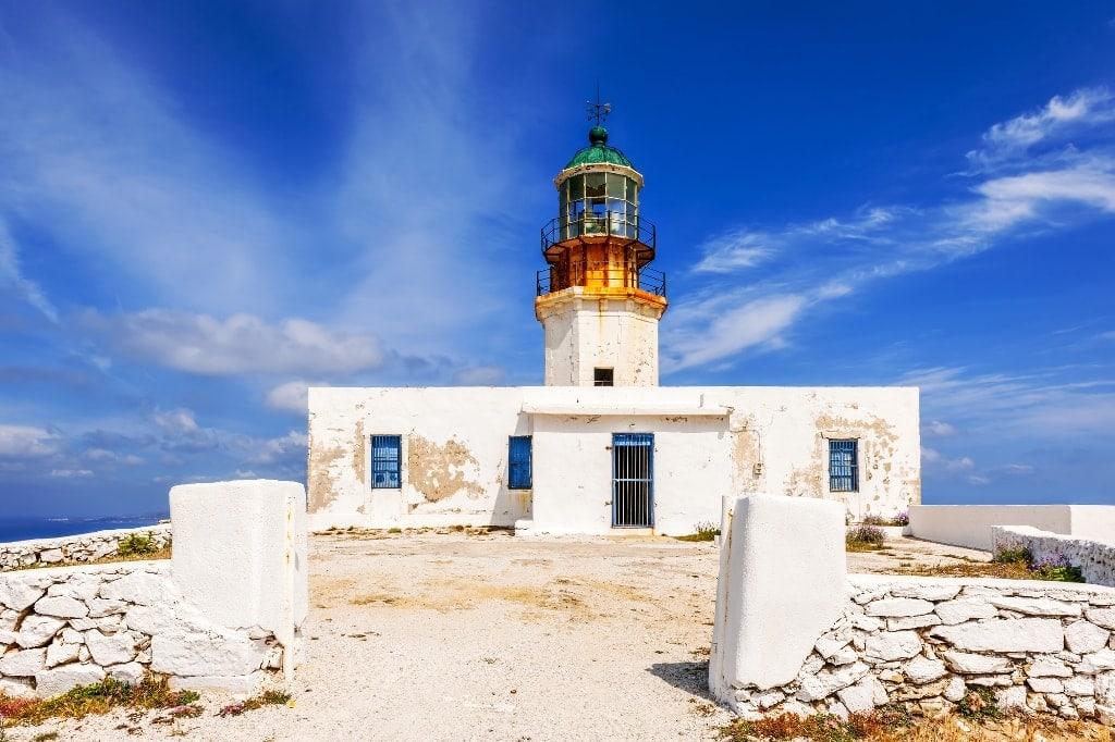 Armenistis Lighthouse, Mykonos - Lighthouses in Greece