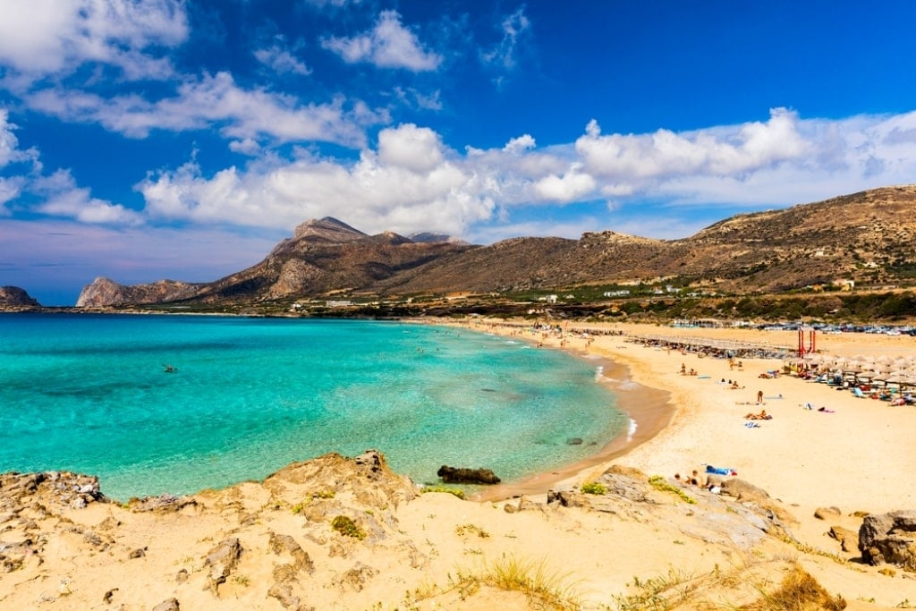 Falassarna one of the most beautiful Chania Beaches