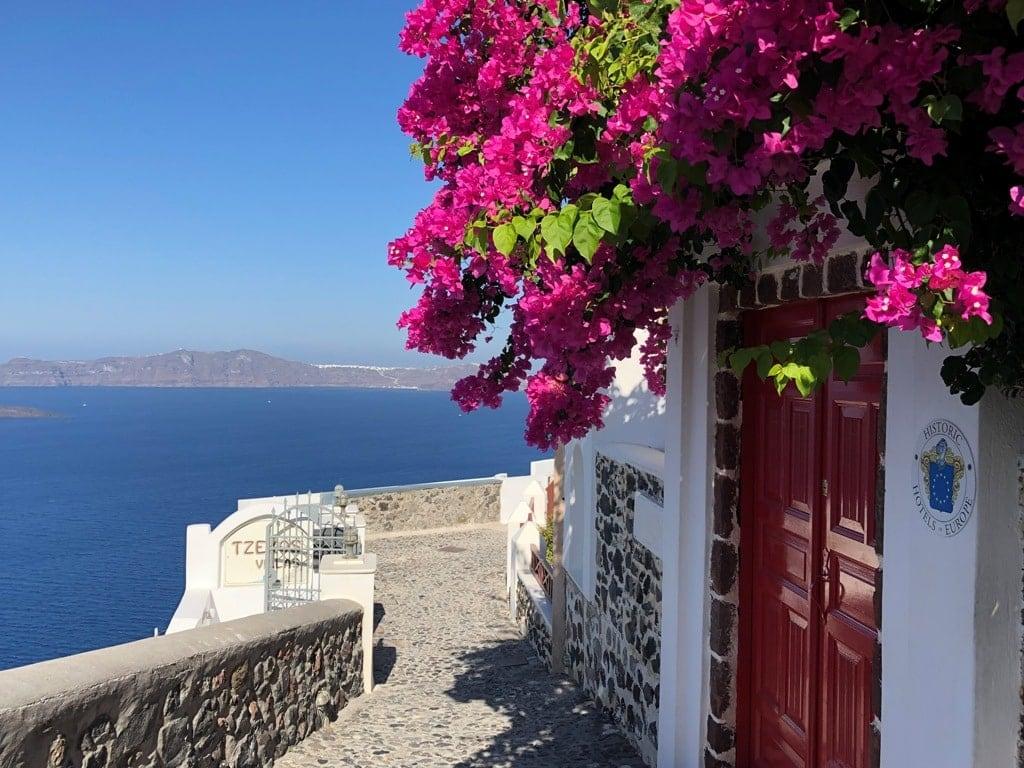 Fira beautiful village in Santorini