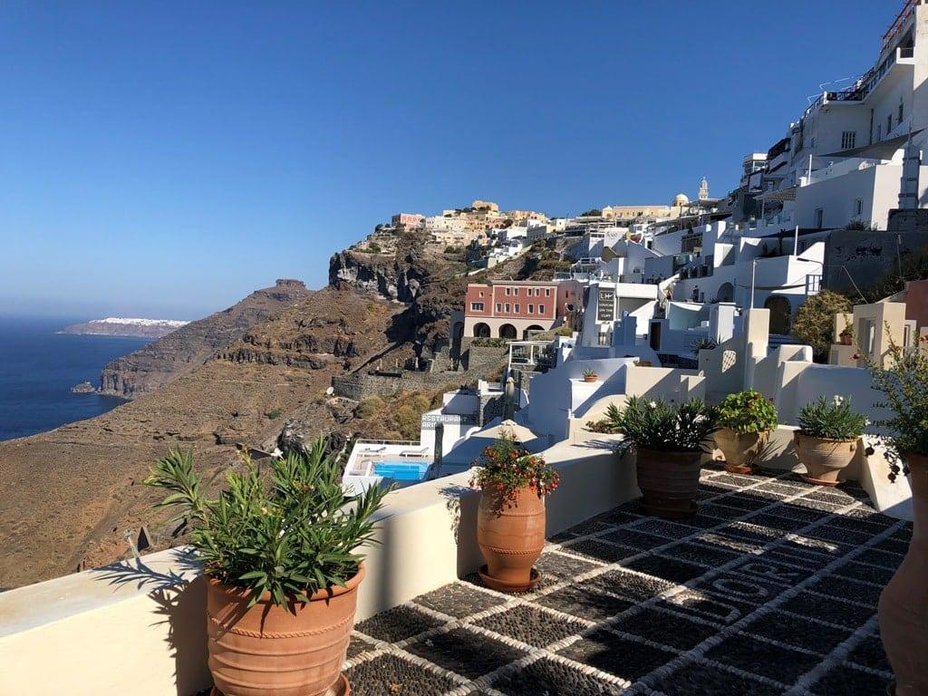 Fira is a village in Santorini