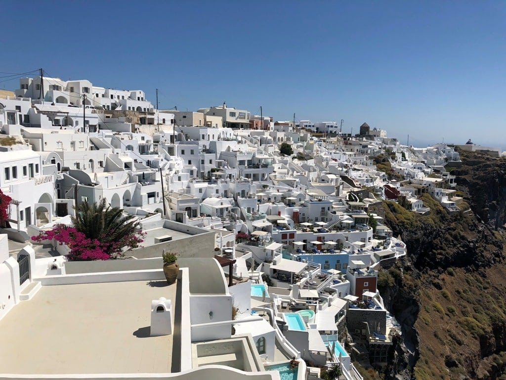 Imerovigli - villages in Santorini