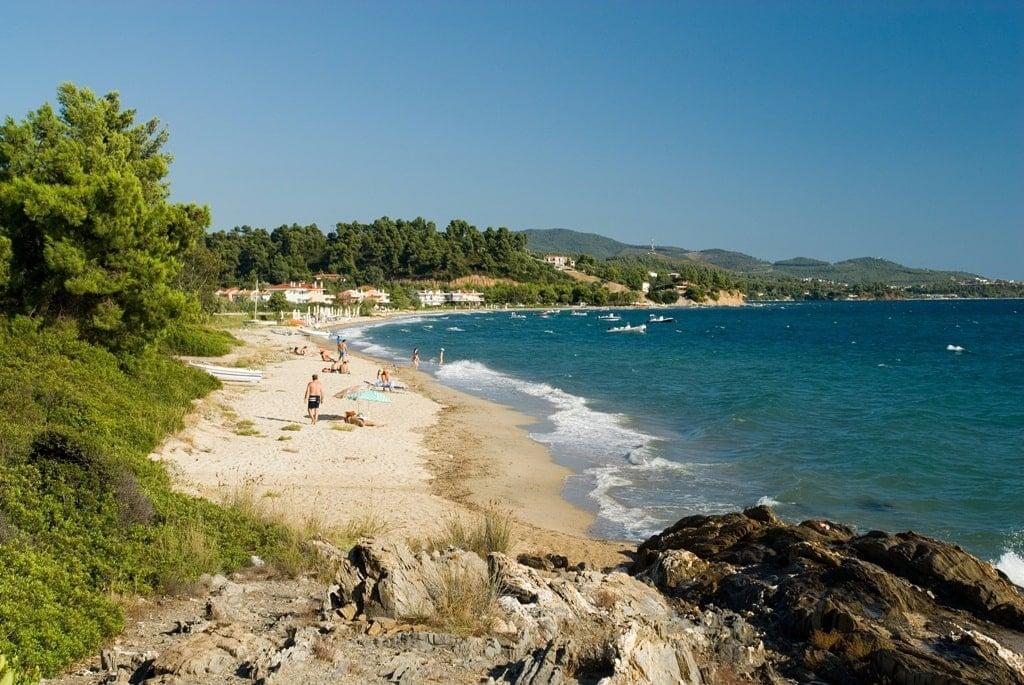 Lagomandra Beach - Sithonia beaches