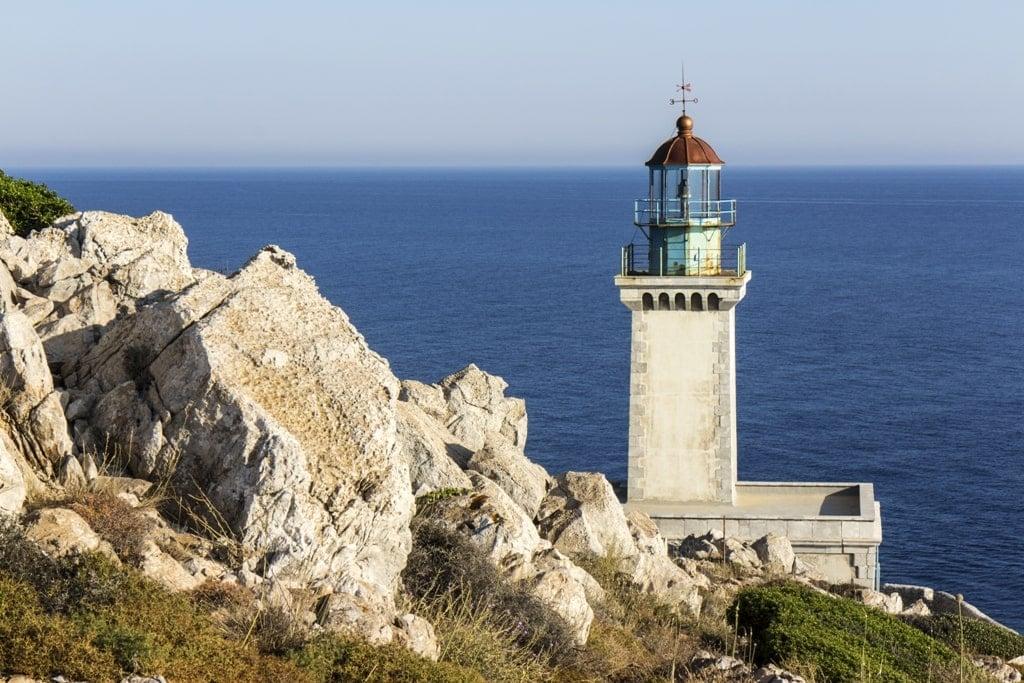 Taron Lighthouse, Peloponnese - Greek Lighhouses