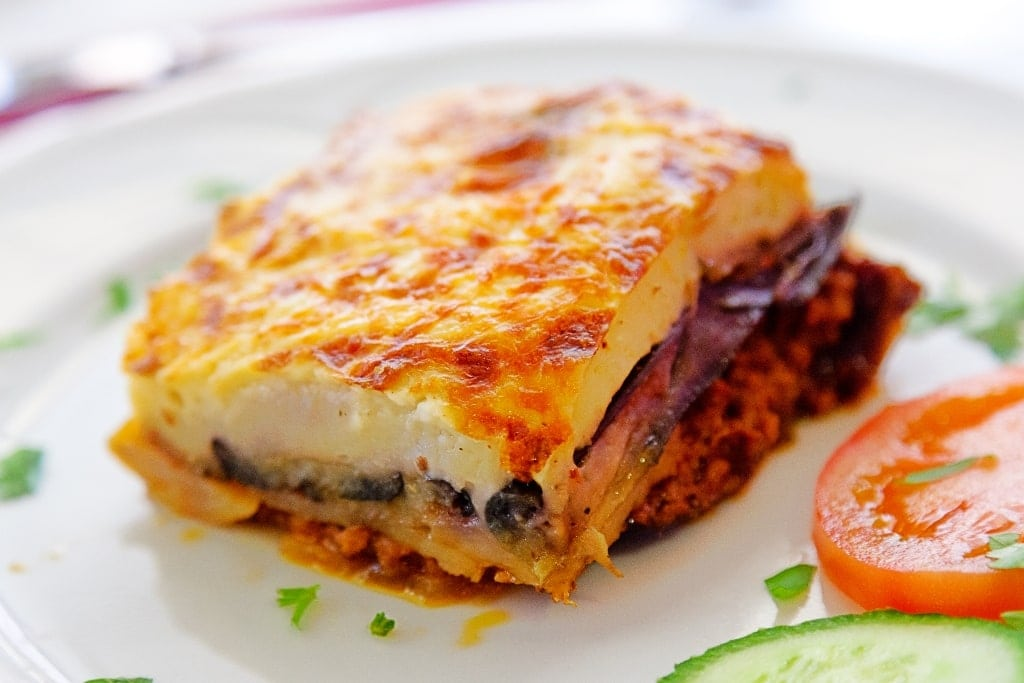 What is Greece's national food? Moussaka