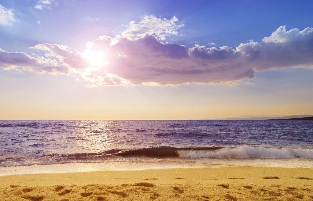 Paradisos Beach in Sithonia