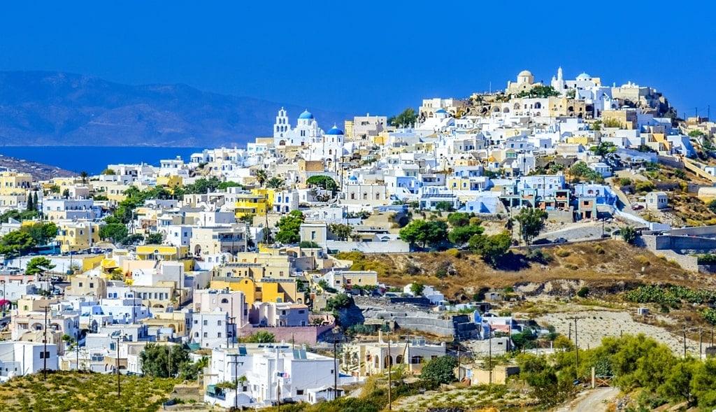 Pyrgos Santorini - villages of Santorini