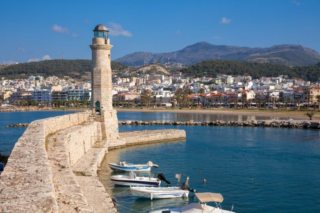 Rethymno Lighthouse, Crete - Lighthouses in Greece