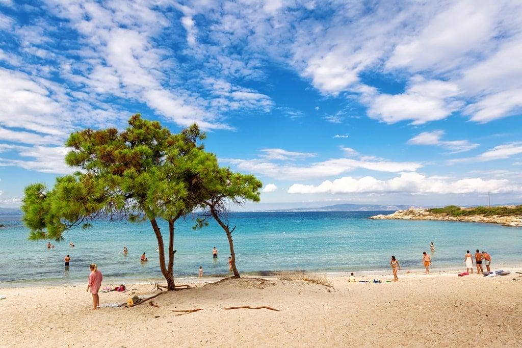 Vourvourou Beach - Best beaches in Sithonia