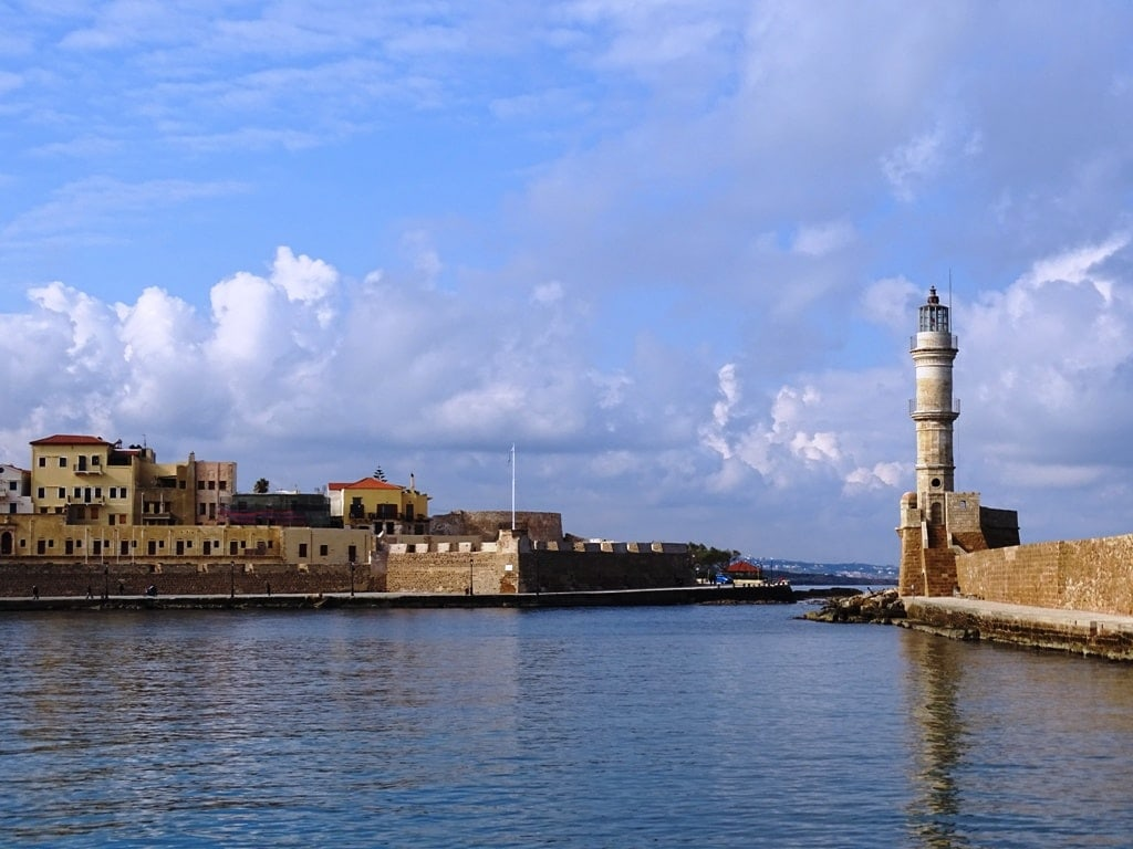 Chania Lighthouse, Crete - Best lighthouses in Greece