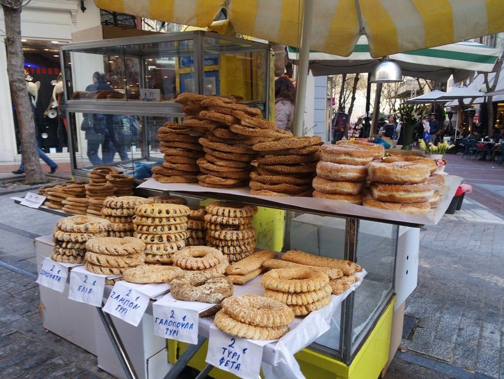 Koulouri - Greek street food