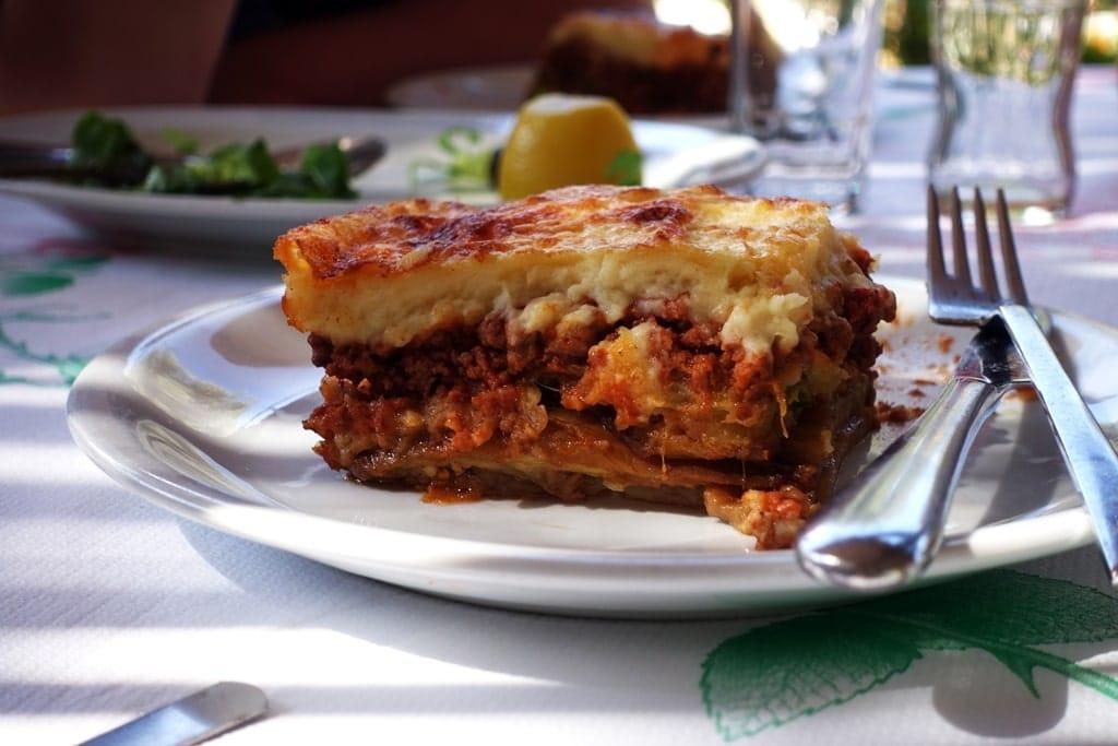Moussaka - Greece national food