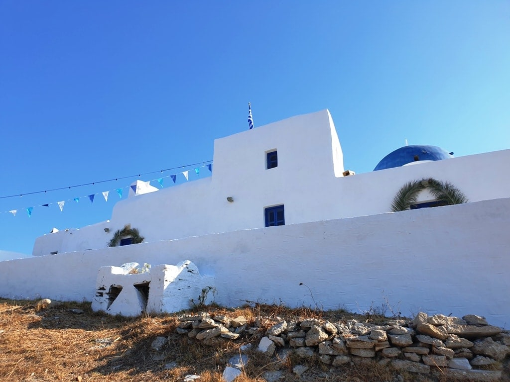 Aghios Ioannis Detis' monastery - things to do in Paros Greece
