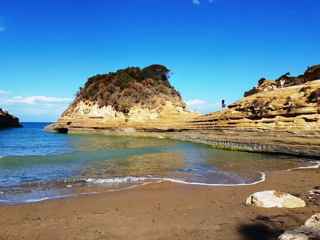 Canal d' Amour beach - things to do in Corfu