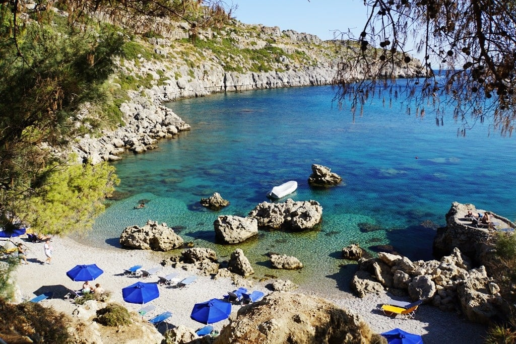 Anthony Quinn Beach - Things to do in Rhodes Greece