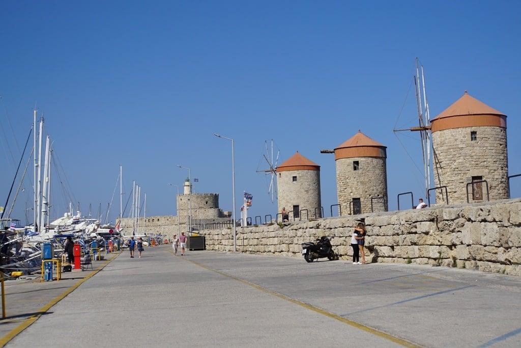 Mandraki harbor - things to do in Rhodes island Greece