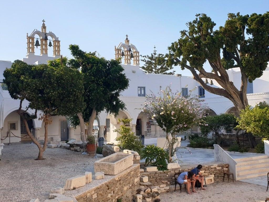 Panagia Ekatontapyliani Church - Paros Island Greece