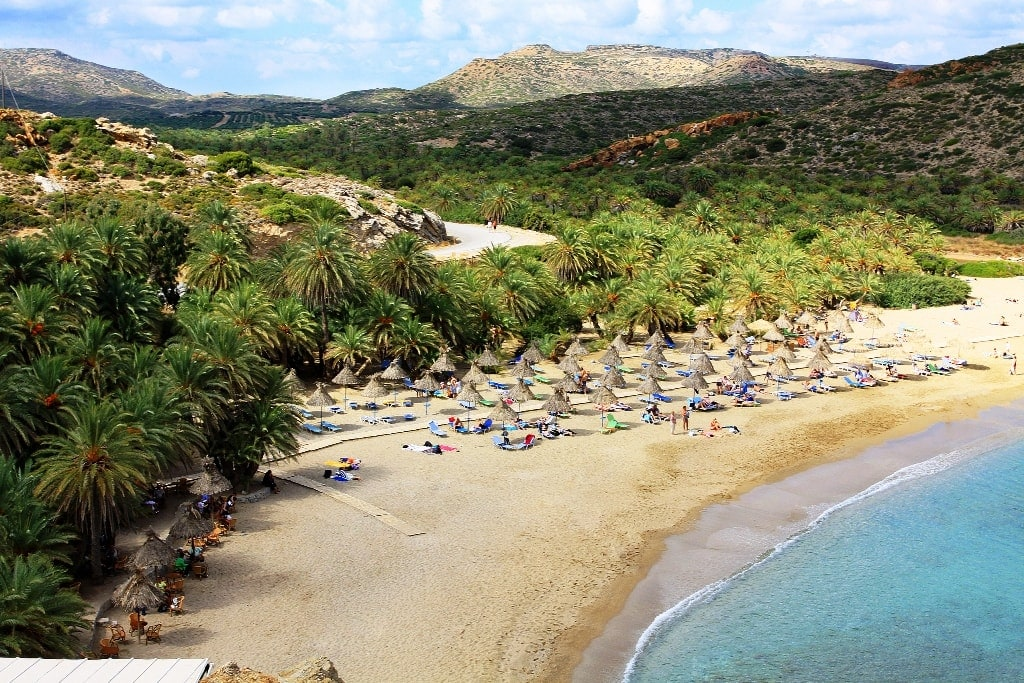 Vai Beach - Crete is one of the best greek islands for beaches