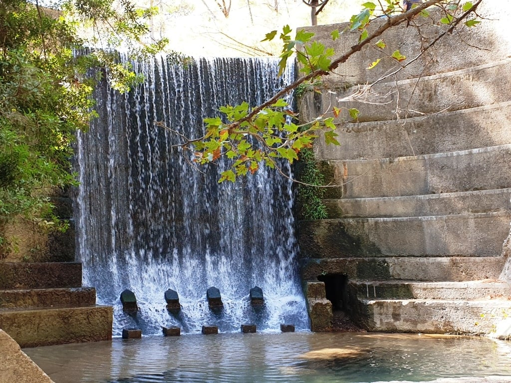 Seven Springs - Things to do in Rhodes