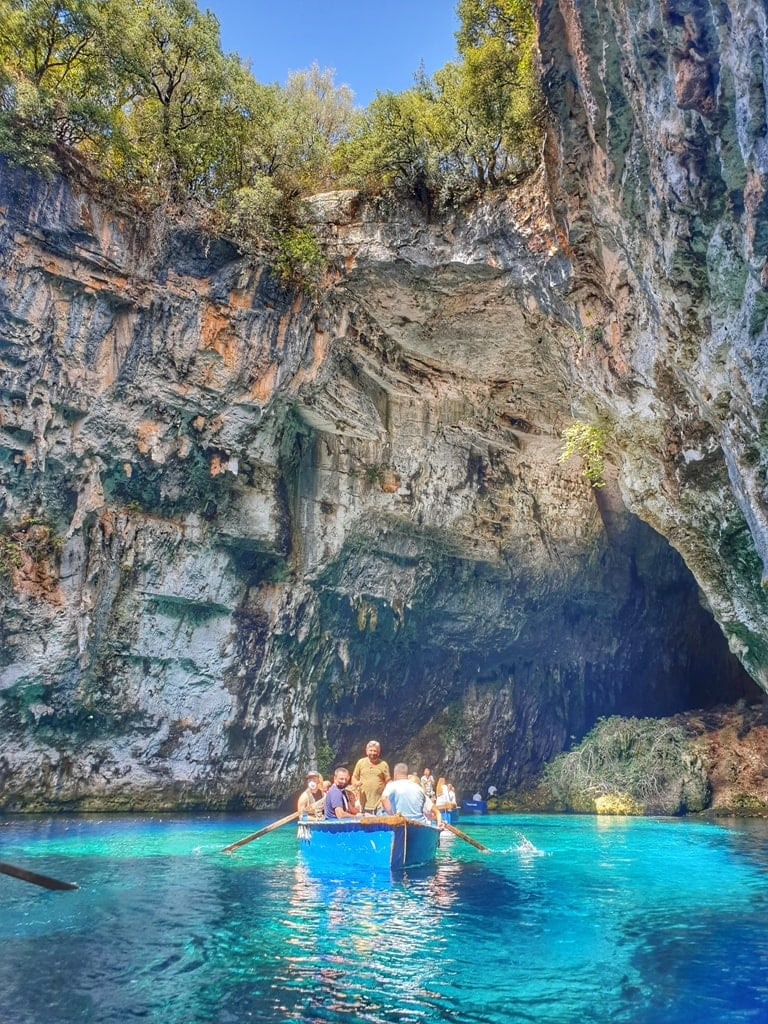 Melissani Cave - famous Caves in Kefalonia